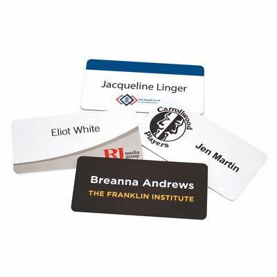 "Magnetic Name Badges- 1.5"" X 3"""